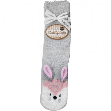 Taubert Cuddly Socks 202371-588 Socken grau-rose