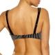 Lidea Monochrome Avenue 7888 Bikini-Oberteil black-white