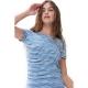 Mey Arola 16247 Schlafshirt pacific blue