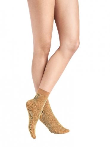 Wolford Sea Sparkle Socks 48017 Söckchen beach sand