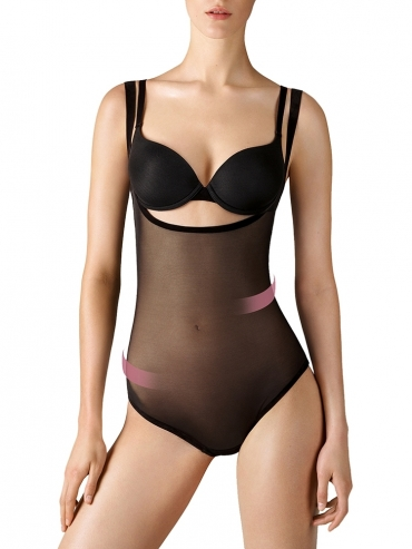 Wolford Tulle forming String Body 79042 Body black