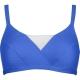 Lidea Contrast 5930 Bikini-Oberteil blue white