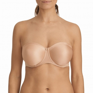 PrimaDonna Every Women 0163111 trägerloser BH light tan
