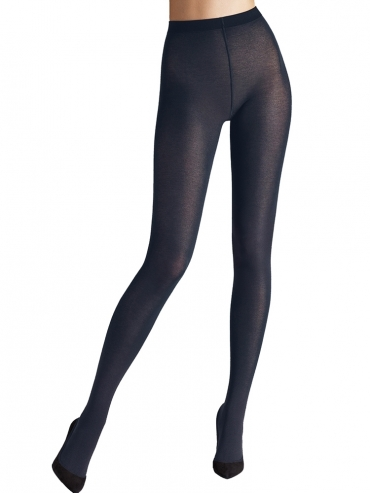 Wolford Cotton Velvet Tights 11130 Strumpfhose admiral