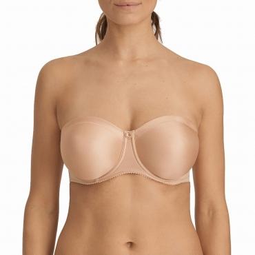 PrimaDonna Every Women 0163111 trägerloser BH light tan