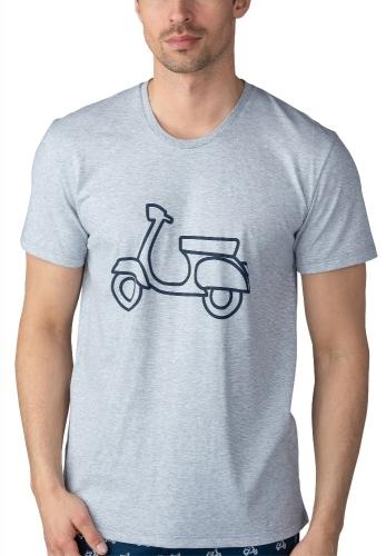 Mey Sundsvall 58830 T-Shirt light grey melange