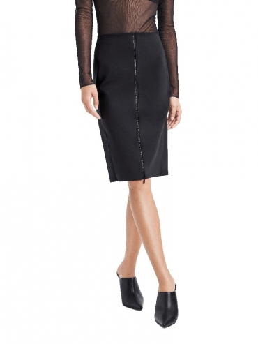 Wolford Liana Skirt 52695 Rock black