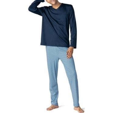 Mey San Pedro 11381 Schlafanzug yacht blue