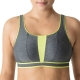 PrimaDonna sport The Sweater 6000113 Sport-BH ohne Bügel cosmic grey