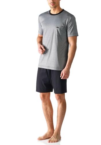 Mey Anzug 24770 Schlafanzug kurz indigo