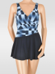 Sunflair Badekleid Jeans n Chess 22163 blau