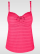 PrimaDonna swim Pina Colada 400-0370 Tankini-Oberteil hot pink