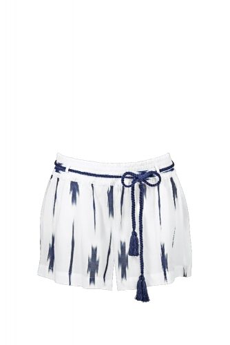 Watercult Artful Dot W9223 Shorts offwhite-indigo