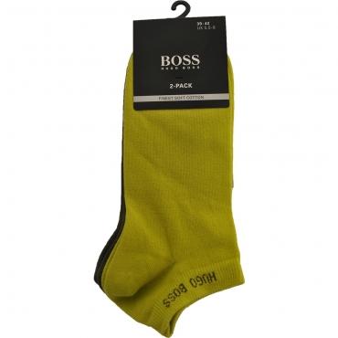 Boss 2P AS Colours CC 50407405 Socken bright green