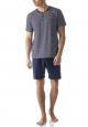 Mey Camps 13974 Pyjama kurz yacht blue
